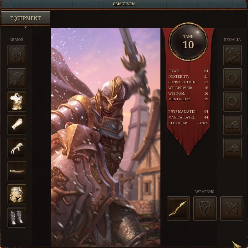 character attributes and itemization a first look an ashes of